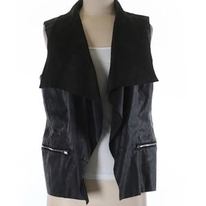 NWT I Jeans by Buffalo Vita Faux Leather Vest